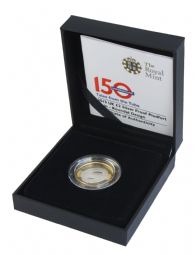 2013 Silver Proof Piedfort £2 - Roundel Design